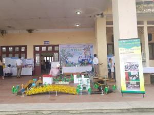 Phòng GD&ĐT huyện Nam Trực tham gia ngày hội STEM tại Bắc Ninh